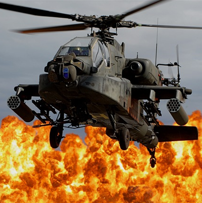 Boeing Longbow Apache AH64D Helicopter